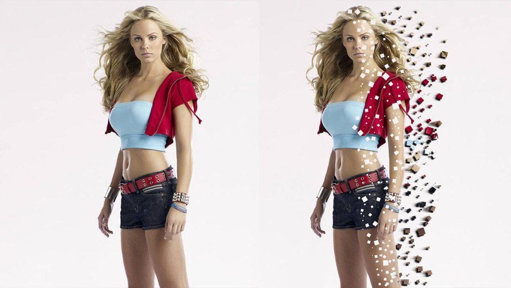 Pixel-Explosion-Effect