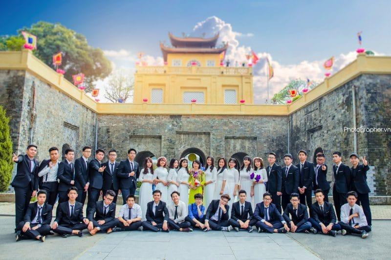 Dịch vụ chụp ảnh kỷ yếu lớp 12 tại Hà Nội