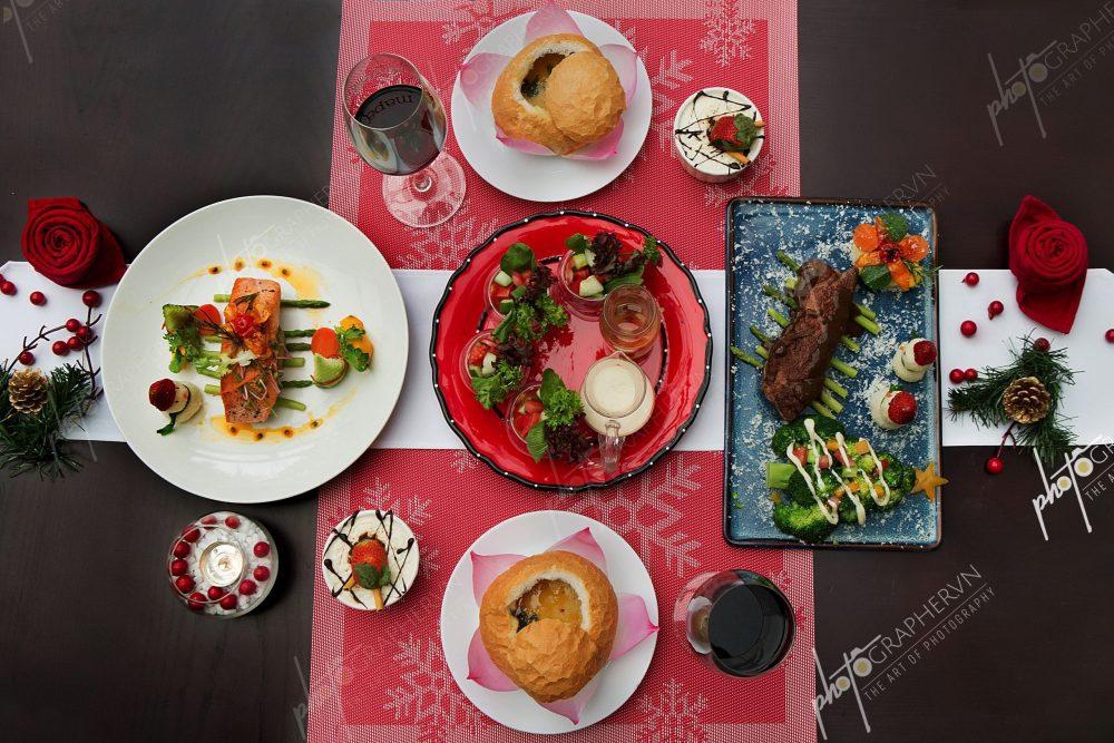 Chụp ảnh món ăn đẹp tại studio
