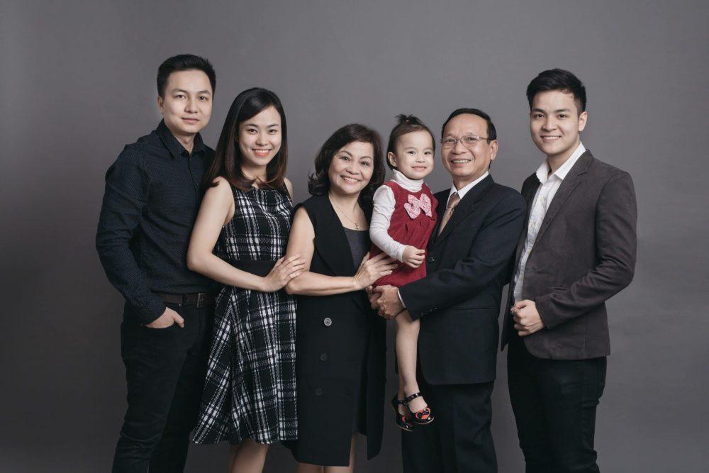 Dịch vụ chụp ảnh gia đình giá rẻ