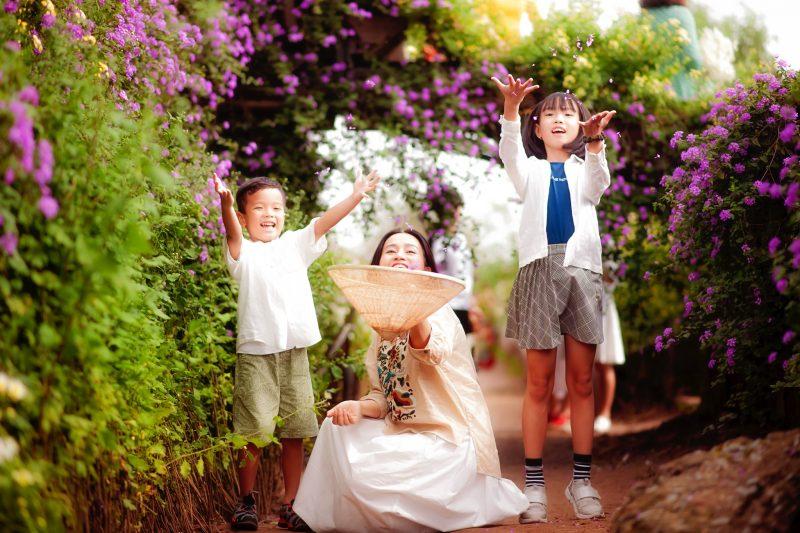Chụp ảnh gia dình 3 mẹ con10
